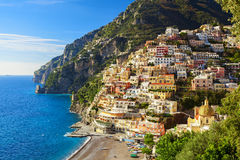 Positano coast view Stock Photo