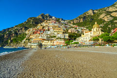 Positano coast view Stock Photos