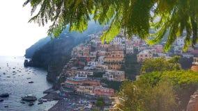 Positano, costa de Amalfi Imagen de archivo libre de regalías