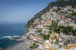 Positano, costa de Amalfi, Campania, Itália imagens de stock royalty free