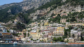 Positano, costa de Amalfi, Italia Imagen de archivo libre de regalías