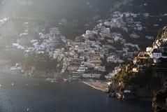 positano costiera amalfitana Στοκ φωτογραφίες με δικαίωμα ελεύθερης χρήσης