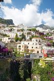 Positano, Costiera Amalfitana, Italy. POSITANO, ITALY - JUNE 25, 2013: Positano is a village and a comune on the Amalfi Coast (Costiera Amalfitana), in Campania stock images