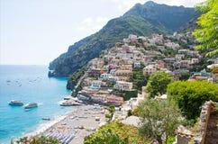 Positano, Costiera Amalfitana, Italy Stock Image