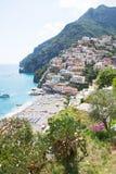 Positano, Costiera Amalfitana, Italy Stock Photos