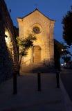 positano de l'Italie d'église Photographie stock libre de droits