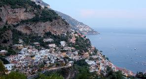 Positano evening Royalty Free Stock Images