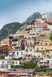 Positano houses Stock Photo