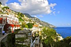 Positano, Italië stock afbeeldingen