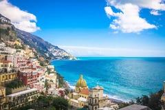 Positano, Italië Stock Foto