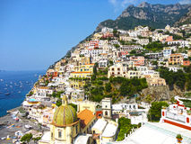 Positano Italia Imagen de archivo libre de regalías