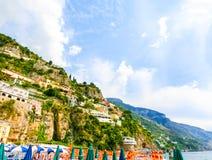 Positano, Italy along the stunning Amalfi Coast. Royalty Free Stock Image