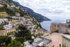 Positano, italy Stock Photography