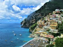 Positano, Italy Seaside View stock photo