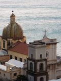 Positano katedra Obraz Royalty Free