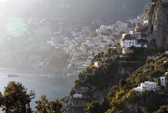 Positano - litorale di Amalfi Fotografie Stock Libere da Diritti