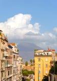 Positano na Amalfi wybrzeżu, Campania prowincja Domy na skale i morzu Obrazy Royalty Free