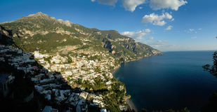 Positano na costa de Amalfi Foto de Stock