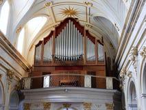Positano - organe de Duomo image libre de droits