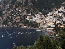 Positano panorama Royalty Free Stock Photo