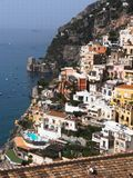 Positano panorama Stock Photo