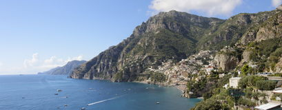 Positano panorama Royalty Free Stock Photography