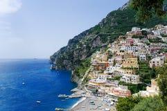 Positano panoramic view, Italy Royalty Free Stock Image