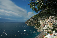 Positano Seascape Stock Photo