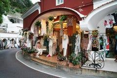 Positano shops Royalty Free Stock Photos