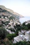 Positano sur la côte d'Amalfi Image libre de droits