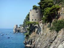 Positano towers Royalty Free Stock Image
