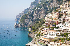 Positano view Stock Photography