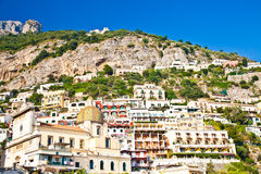 Positano view Stock Image