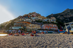 Positano view Royalty Free Stock Photography