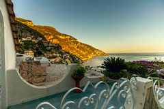 Positano view Stock Photo