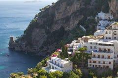 Positano village at Amalfi, Italy. The Positano village, amalfi coast, Italy Royalty Free Stock Photography