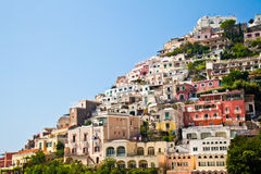 positano widok Obraz Royalty Free