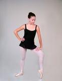 Positie 500 van het ballet royalty-vrije stock afbeeldingen