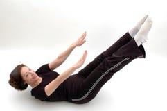 Positie 973 van de yoga stock afbeeldingen