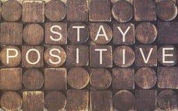Positif de séjour Message de motivation images libres de droits