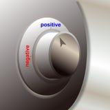 Positif et négatif Photographie stock libre de droits