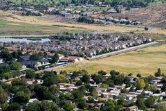 Position abandonnée suburbaine photo libre de droits