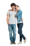 Position affectueuse de couples Photos stock