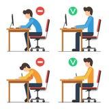 Position assise arrière Photos libres de droits