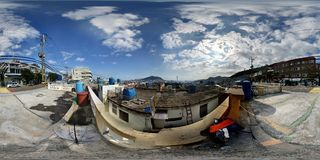 Position coréenne de colline Photo libre de droits