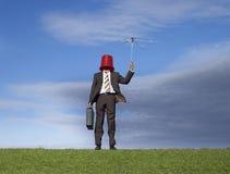 Position d'affaires après tempête photographie stock libre de droits
