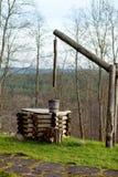 Position d'eau de puits Photographie stock libre de droits