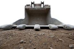 Position d'excavatrice Image libre de droits