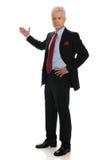 Position d'homme d'affaires Photo libre de droits
