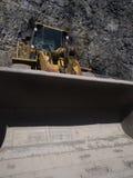 Position dans la mine Images stock